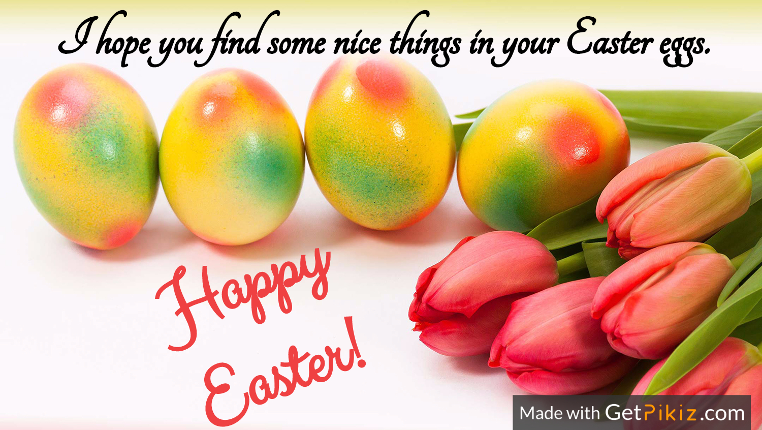 I hope you find some nice things in your Easter eggs. Happy Easter!